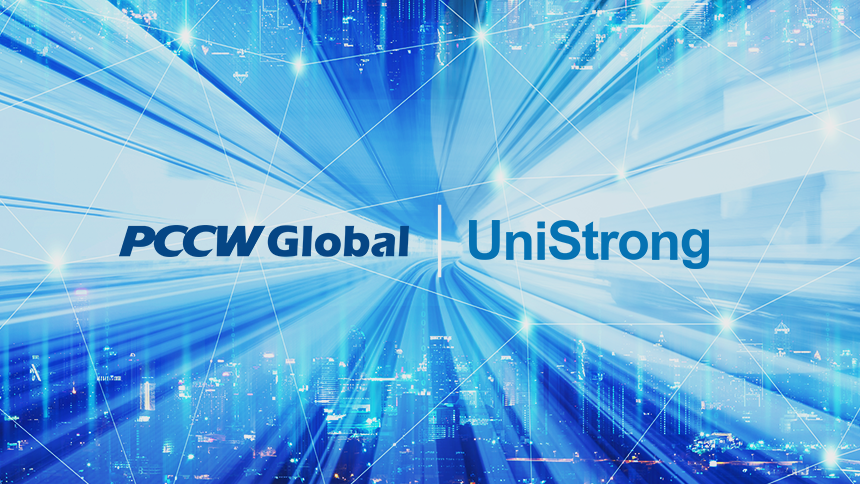 PCCW Global and UniStrong Press release image
