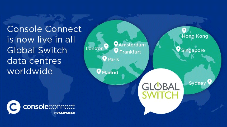Global Switch press release image